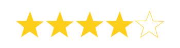 4 von 5 Sternen auf Lars Test Blog