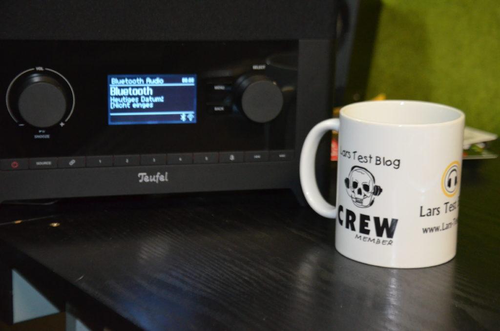 Das Teufel DAB+ Radio liegt klanglich in Front gegenüber der Konkurrenz auf dem Markt