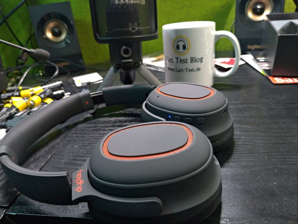 dyplay Noise Cancelling Kopfhörer, Kabellos Bluetooth 5.0 Over-Ear Ohrhörer Wireless ANC Headphones Sound Tiefer Bass APTX-LL und Schnelllade Technologie 22 Std. Wiedergabezeit für iOS Android TV