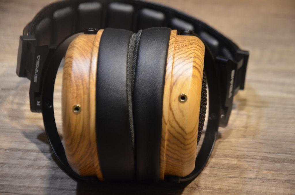 SIVGA Phoenix 50MM Polycarbonatfolie Zebrano Kopfhörer
